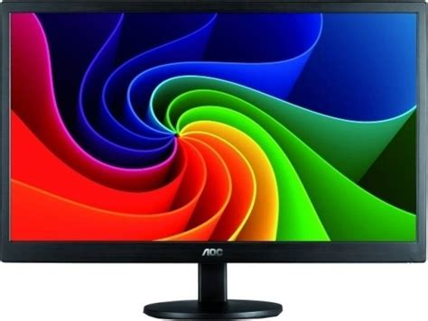 Dijamin Aoc Led Monitor 18 5 Inch Type E970 aoc 18 5 inch hd led backlit monitor price in india buy