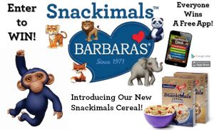 barbara s bakery quot name a snackimal quot contest win barbara s snackimals items more - Ls Plus Sweepstakes