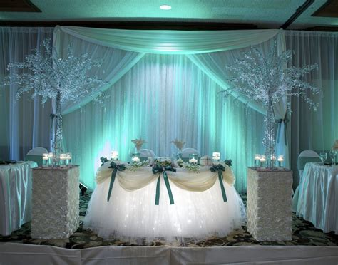 wedding bridal table decoration ideas top 19 wedding reception decorations with photos mostbeautifulthings