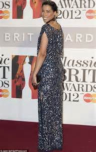 Rosita Silver Maroon 1 myleene klass steals the show at the classical brit awards