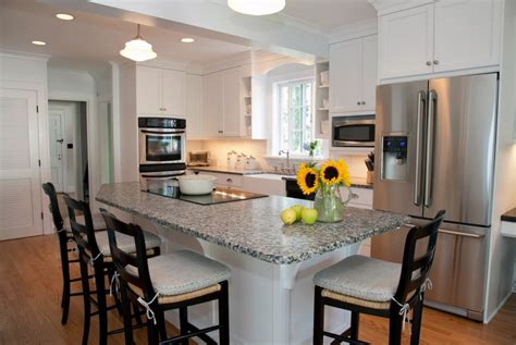 granite kitchen island with seating spectacular kitchen island designs with seating for four