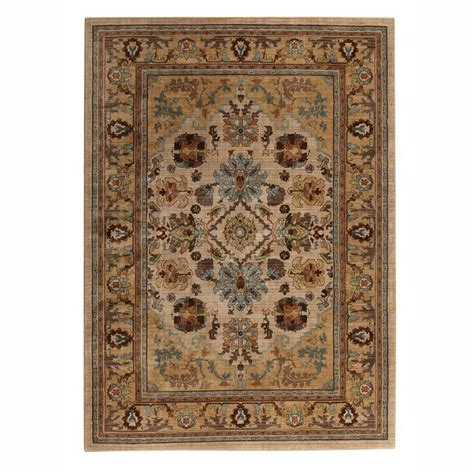 Mohawk Area Rug Mohawk Home Charisma Butter Pecan 10 Ft X 13 Ft Area Rug 415396 The Home Depot