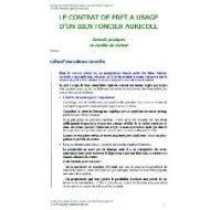 Bail Commodat Modèle