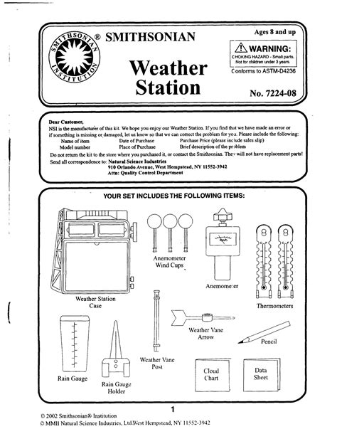 Weather Tools Worksheet by 10 Best Images Of Weather Instruments Worksheets Printable