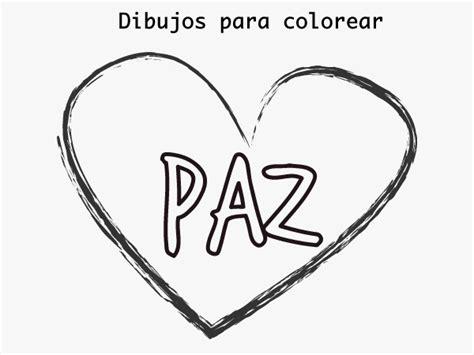 imagenes para dibujar sobre la paz dibujos para colorear dibujos d 237 a de la paz para colorear