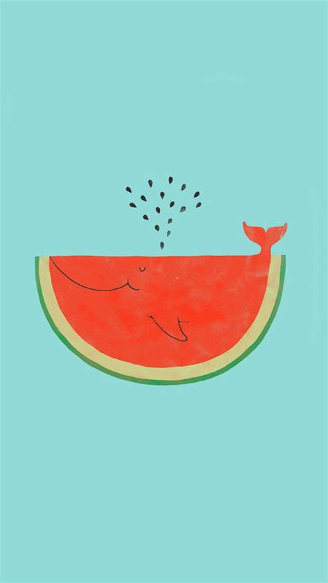 wallpaper iphone 5 flat watermelon whale iphone 5 wallpaper iphone wallpapers