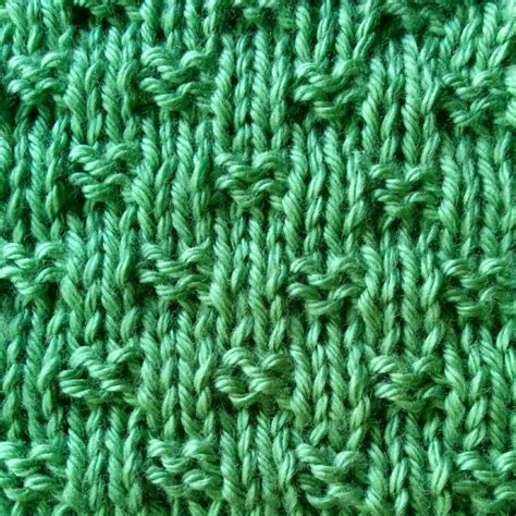 simple stitch knitting tiny woven basketweave stitch purl avenue