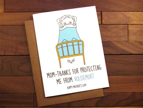 Harry Potter Themed Birthday Cards Funny Mother S Day Card Harry Potter Mother S Day