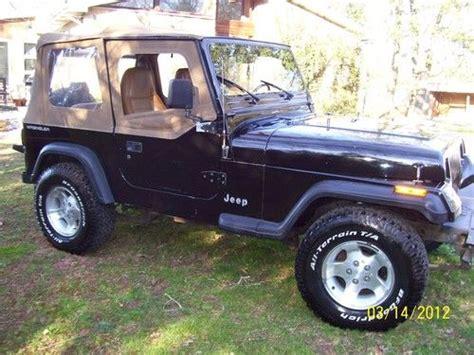 1995 Jeep Wrangler Grande Buy Used 1995 Jeep Wrangler Grande Sport Utility 2