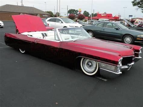 1965 cadillac lowrider buy new 1965 cadillac convertible custom bagged