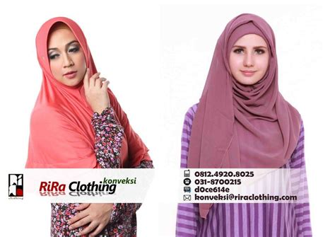 Jilbab Kerudung Konveksi Jilbab Dan Kerudung Riraclothing