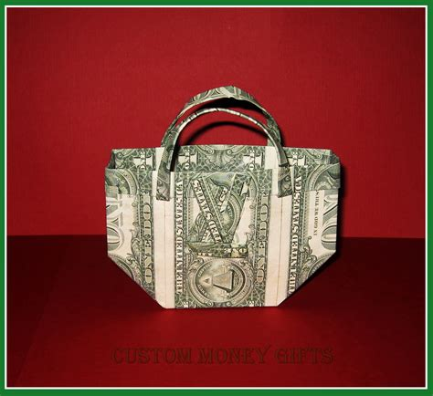 Purse Origami - money purse is an ideal gift for birthday graduation