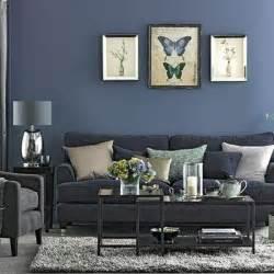 Superbe Couleur Peinture Moderne Pour Salon #2: deco-salon-moderne-couelur-grise-et-bleu-denim-pour-un-int%C3%A9iruer-chic-et-contemporain.jpg
