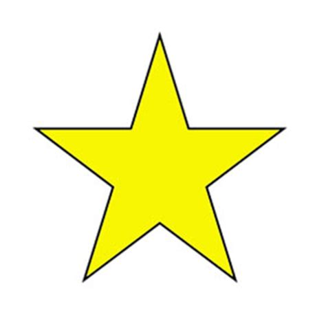 free printable hollywood star printable picture of a star clipart best