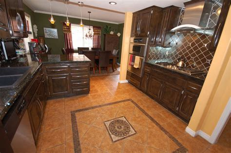 Kitchen Floor Design Ceramic Tile Floor Design Patterns Decobizz