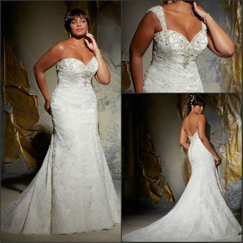 Plus Size Wedding Dresses Mermaid Style   Prom Dresses