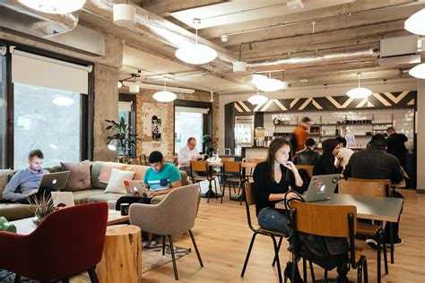 Gas Station Floor Plans inside wework s trendy coworking space in devonshire