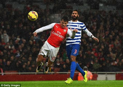 alexis sanchez vs qpr arsenal 2 1 qpr match report alexis sanchez and tomas