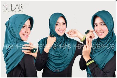 Koleksi Kerudung trend koleksi terbaru modern shejab