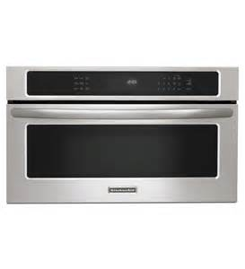 kitchenaid 174 30 900 watt convection built in microwave