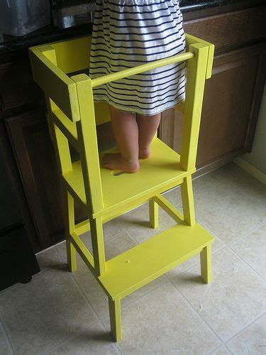 ikea hack kitchen helper diy learning tower for the baby pinterest