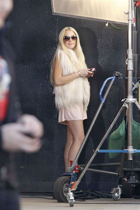 Lindsay Lohan Working On The Set Of I Kno by Lindsay Lohan Photos Lindsay Lohan On Set 4495 Of