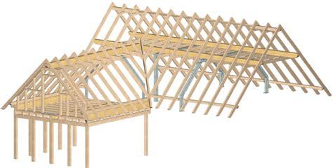 Dachkonstruktion Satteldach by Holzkontor Kuhlenfeld Dachkonstruktionen Cnc Abbund