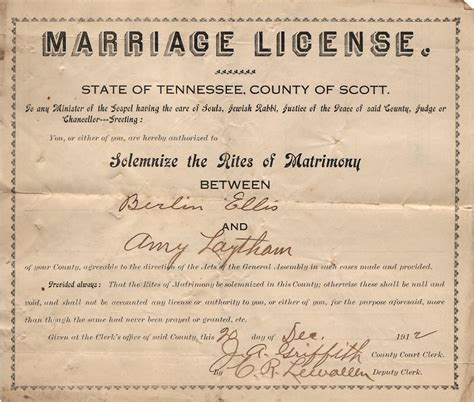 Dillon County Sc Marriage Records State Of Tennessee Marriage License Pictures To Pin On Pinsdaddy