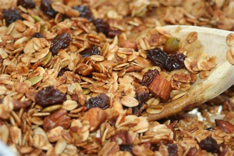 easy granola recipe dishmaps