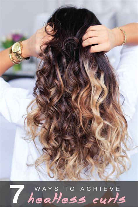 heatless hairstyles buzzfeed 220 ber 1 000 ideen zu hitzelose locken auf pinterest