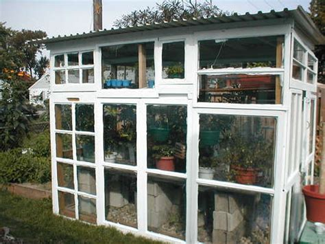 how to make your house green greenhouse made from old windows apartment therapy