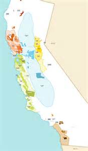 california wine growing regions map wine map winery directory california wines