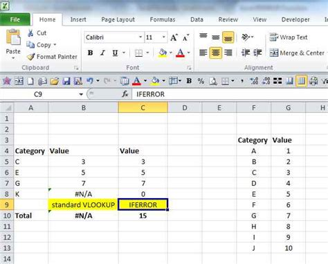 tutorial excel francais zero if error or n a in vlookup excel formulas and