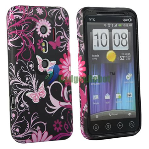 Gel Silicone Htc Evo 3d 3 flower gel silicone cover for htc evo 3d guard ebay