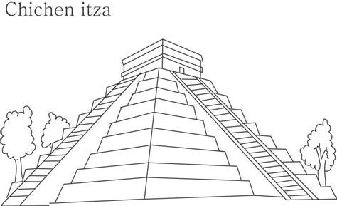 pyramid coloring pages az coloring pages