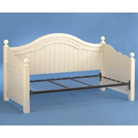 ashley furniture cottage retreat wood daybed in cream