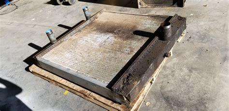 sawmill heat exchanger repair  rebuilding services