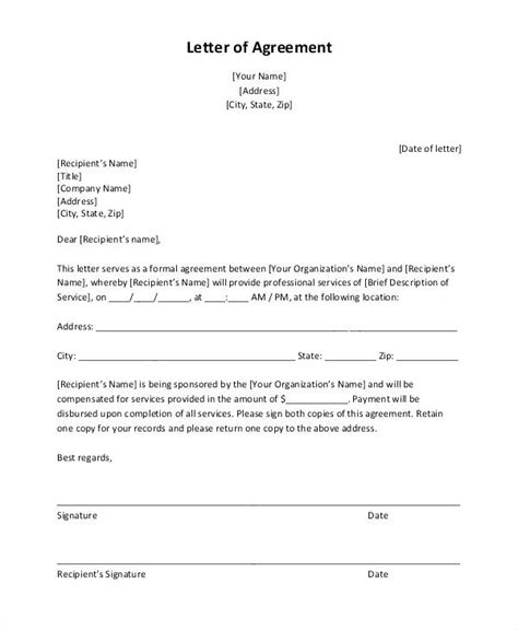 18 Unique Sle Agreement Letter To Pay Images Complete Letter Template Payment Agreement Template Between Two