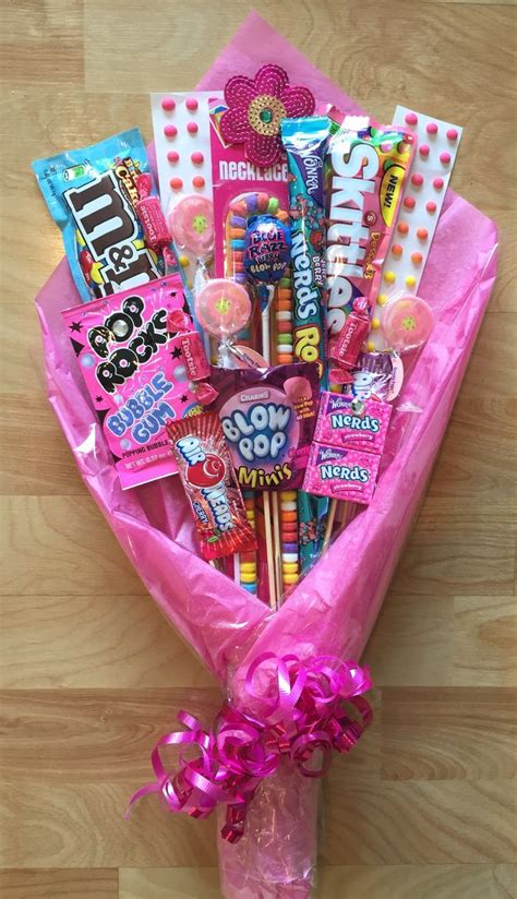 candy bouquet perfect gift  dance recitals crafts spring easter pinterest dance