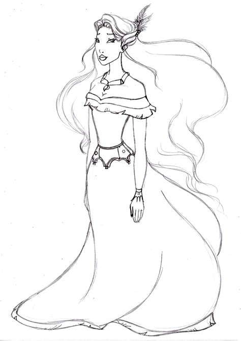 Pocahontas Coloring Pages Getcoloringpages Com Disney Princess Coloring Pages Pocahontas Printable