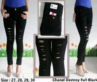 Celana Ripped Wanita 7124 Size 27 30 butik celana terbaru ripped terbaru juni 2015