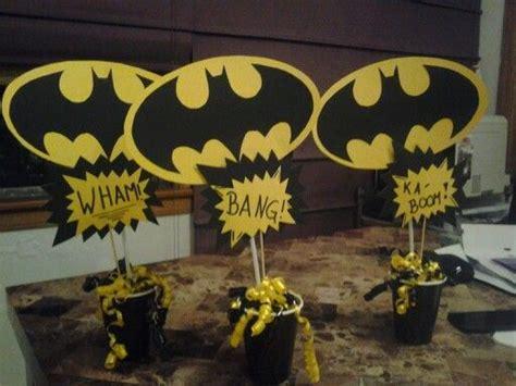 Batman Table Decorations by Batman Centerpiece Batman