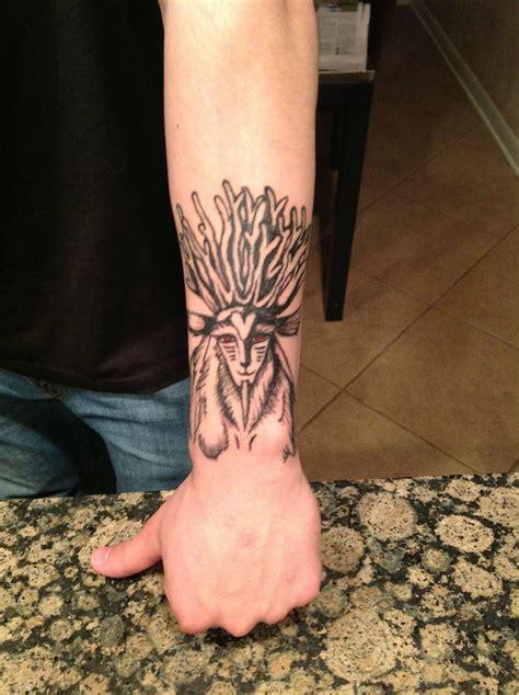 spirit tattoos princess mononoke forest spirit tattoos studio