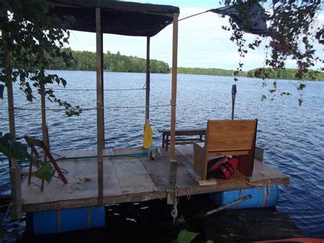 boat canopy homemade homemade pontoon boat