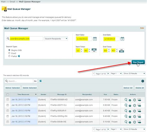 Email Details Search Manage The Exim Mail Queue In Whm Inmotion Hosting