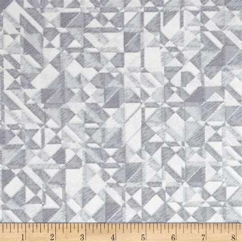 Wide Back Quilting Fabric by 108 In Quilt Wide Back Prisms Grey White Discount