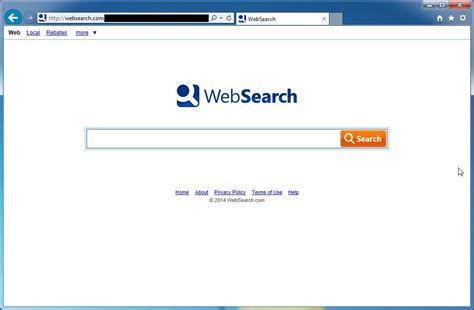 Search Web Search Remove Websearch Toolbar And Websearch Removal Guide