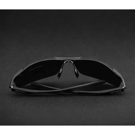 Pakaian Pria Tiger Sunglasses veithdia kacamata pria uv polarized 6529 black jakartanotebook