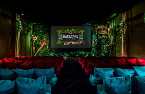 backyard cinema lost world backyard cinema elephant castle london