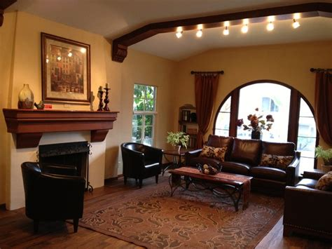 spanish style living rooms 1928 spanish style traditional living room los